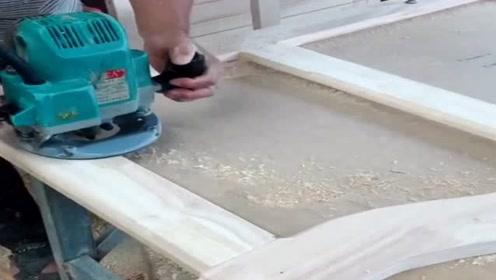 在制作床头造型时,这样起步,真的是非常的方便!