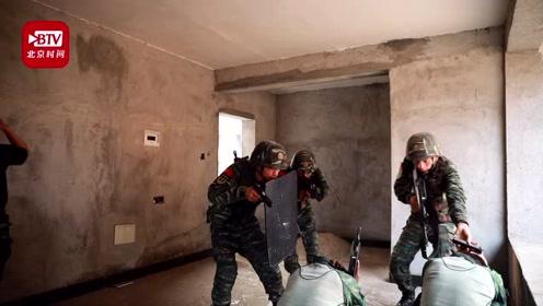 强化实战能力 锻造反恐尖兵