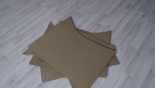 小伙造出一辆兰博基尼,每个零件都采用纸片拼装,成品太惊艳