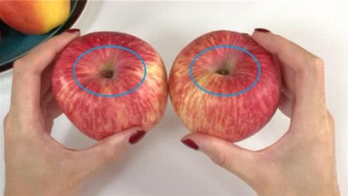 """挑选苹果有诀窍,死记一个""""小机关"""",甜不甜一眼看出,涨知识了"""