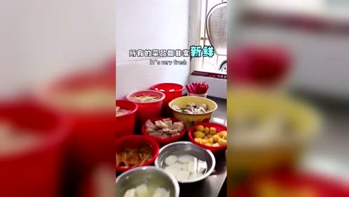 大胃王吃播 藏在居民楼里的冒菜,没人带路你根本找不到