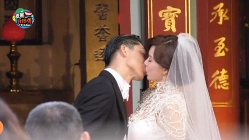 林志玲黑泽良平大婚甜蜜拥吻,婚礼感人瞬间令人羡慕