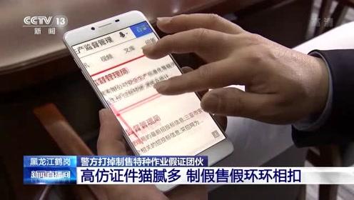 黑龙江警方打掉制售特种作业假证团伙 高仿证件猫腻多