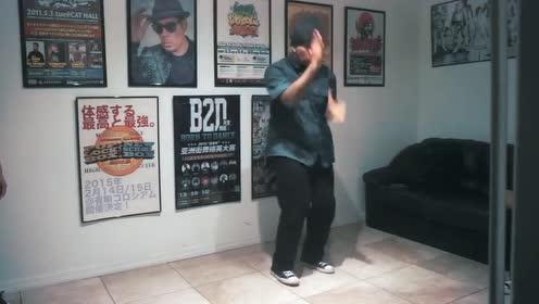 Popping世界冠军Kid Boogie最新Freestyle舞蹈片
