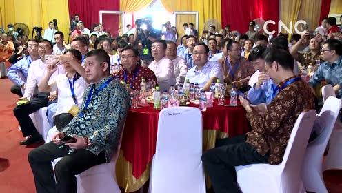 AI合成主播│印尼明古鲁省首个火电站首台机组并网发电