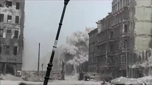 二战柏林战役彩色影像