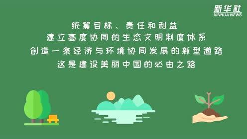 建设美丽中国 这是一条必由之路