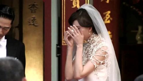 婚礼现场曝光!林志玲感动落泪AKIRA笑成花