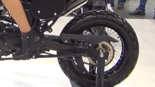 运动复古车型配钢丝辐条轮圈倒置前减震,售价2.5万标配ABS,性能出众