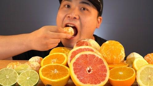 清爽的果香扑鼻,酸味令大胃王睁不开眼,竟用糖果来解围