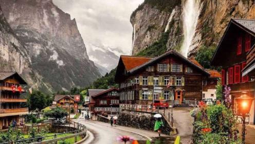 """瑞士""""隐世小城"""",位于阿尔卑斯山巅,虽然不是景点却美如仙境"""