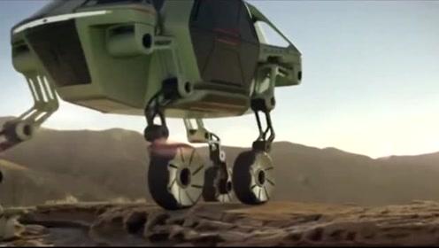 未来汽车惊艳出世,科技感十足,可变换形态!