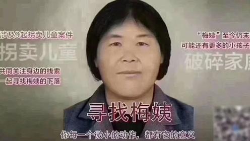 """别传了!公安部辟谣:网传""""梅姨""""第二张画像非官方发布"""