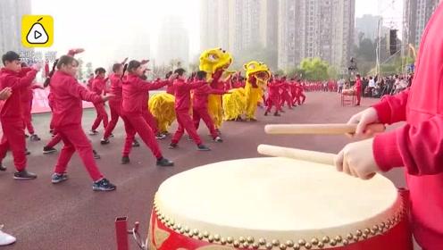 震撼!4600名学生组成中国地图,体育节上演绎祖国大好山河
