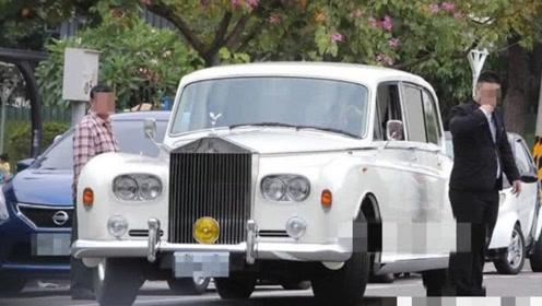 曝林志玲婚车全球仅3辆 曾是摩纳哥国王座驾