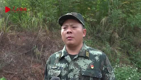 广西玉林:武警特战队员丛林作战训练磨砺反恐利刃