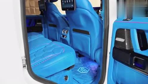 奔驰G500改装升级版,不是一般的酷!