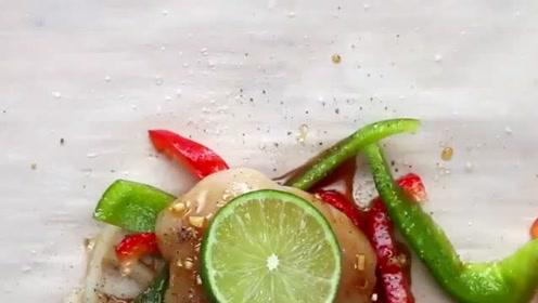 """手把手教你做美味的""""芦笋煎鸡块"""",健康又有营养"""