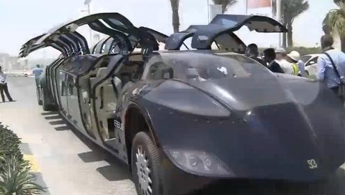 迪拜研发豪华公交车,价值数千万人民币,却被网友吐槽太鸡肋
