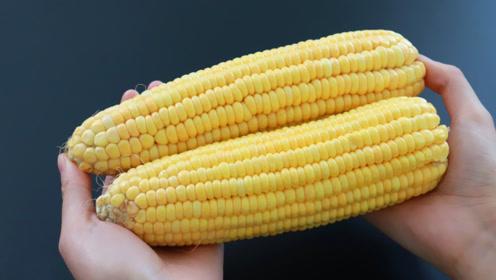 剥玉米粒其实并不难,一个快速方法,剥出的玉米粒完整又干净
