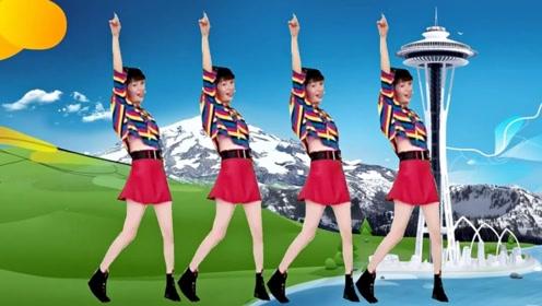 梅子广场舞《热辣辣》网红32步适合初级学习