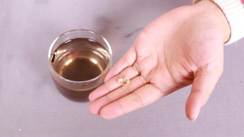 茶叶水中滴几滴维生素E,神奇用途太厉害了,很多男女都需要,后悔才知道