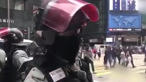 给阿sir点赞!暖心港警正义发声:我想为家乡做贡献,所以做警察!