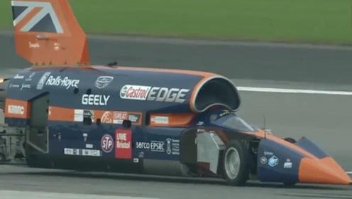 全球速度最快的汽车,时速达3218公里,绕地球一圈仅需12小时