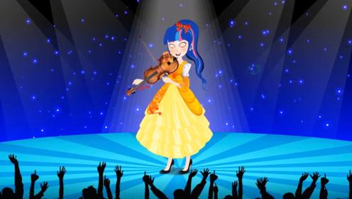 王子举办小提琴比赛,妹妹为了获胜,竟偷偷把姐姐的琴弄坏了