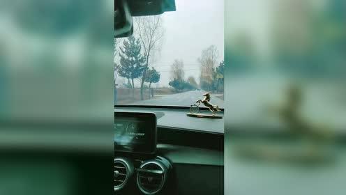 实习女司机上路了!愁死我了!