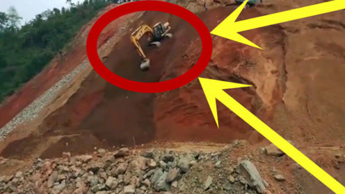 牛叉挖掘机上山下坡来去自如!