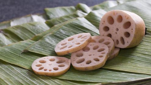 吃了那么多年才知道 原来莲藕还有7孔和9孔的区别