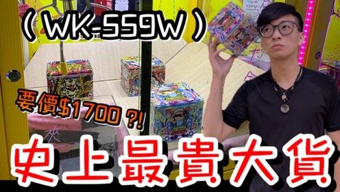 【醺醺】娃娃机史上最夸张大货价格!结果还被少少出!