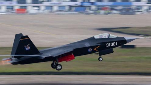 歼31全新亮相,载弹量已超过F35?短板被悉数修复有望出口