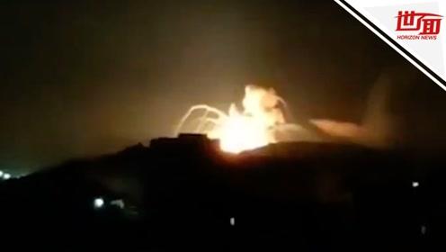 以色列对叙利亚发动大规模空袭:房屋尽毁 造成数十人伤亡