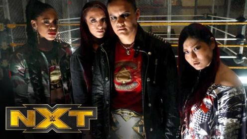 NXT最新迷幻摇滚主题曲战争游戏版MV 雷亚里普利叫板善娜巴斯勒