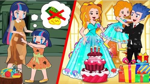 穷女孩画了张生日贺卡,却换来了昂贵礼物,背后原因令人感动!