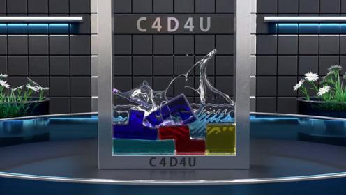 牛人用特效模拟果冻俄罗斯方块,Q弹软滑,网友:看完感觉太解压