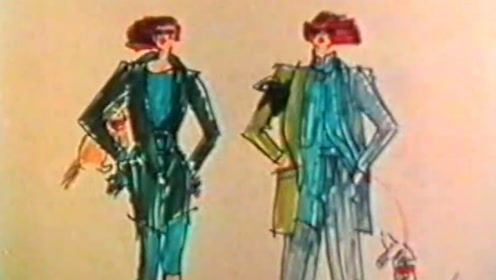 回忆曾经时尚 80年代经典复古时装秀 满满的高级感
