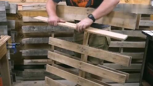 拆开一个木托盘,制作成1000支铅笔,能用好几年了