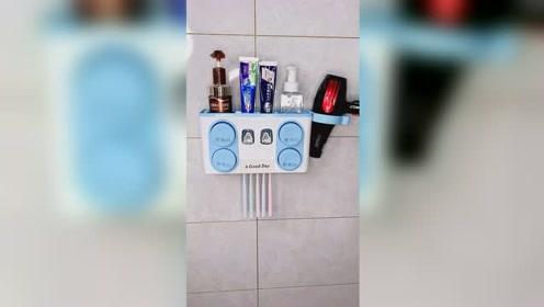 牙刷置物架把卫生间收拾的整整齐齐