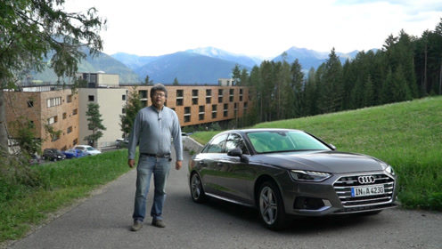外观内饰小变动 驾驶质感更好 试驾奥迪A4 Facelift