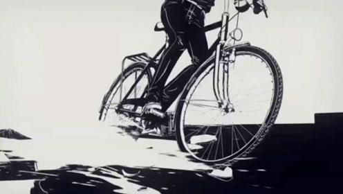 精选视频:打破平静黑白世界的骑行者