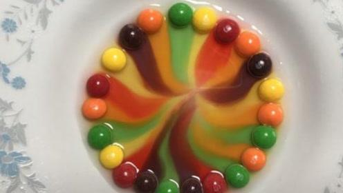 """用彩虹糖做一个漂亮的""""摩天轮"""",又好看又好玩"""