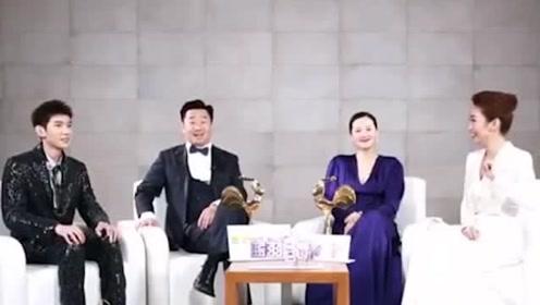TFBOYS王源手握影帝影后奖杯,受宠若惊,原来寓意这么深刻