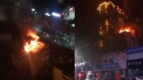 家属楼深夜突发火灾致4死 1人跳楼逃生死亡3人窒息死亡