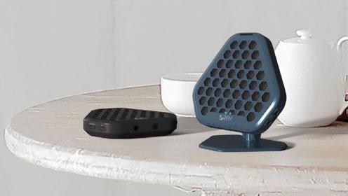 能替代耳机的扬声器,发射定向声波,只能自己听别人听不到