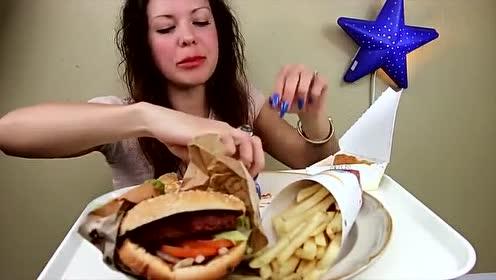 吃播大胃王:美食之汉堡王