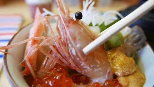 日本人如何吃虾?一只虾做成一道菜,网友吐槽太麻烦!