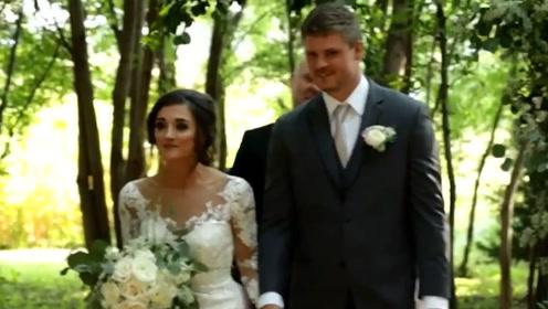 世界上奇葩的婚礼,新郎衣衫褴褛,新娘只捧一束花